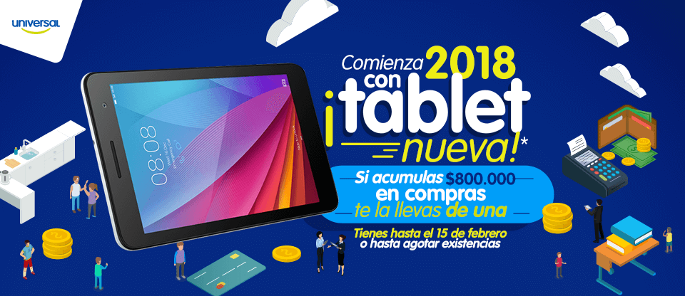 tablet 2018