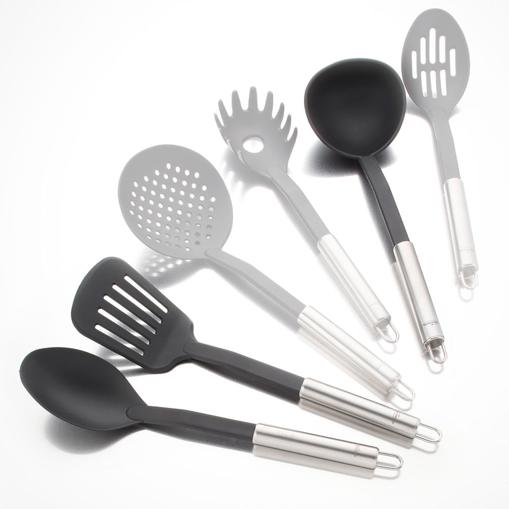 Set de utensilios de cocina en nylon | Tienda Hogar Universal ...
