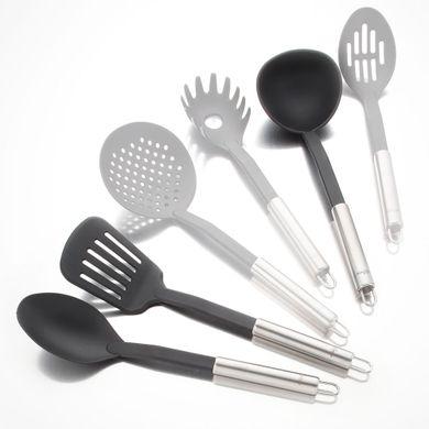 Set de utensilios de cocina en nylon tienda hogar for Utensilios cocina acero inoxidable