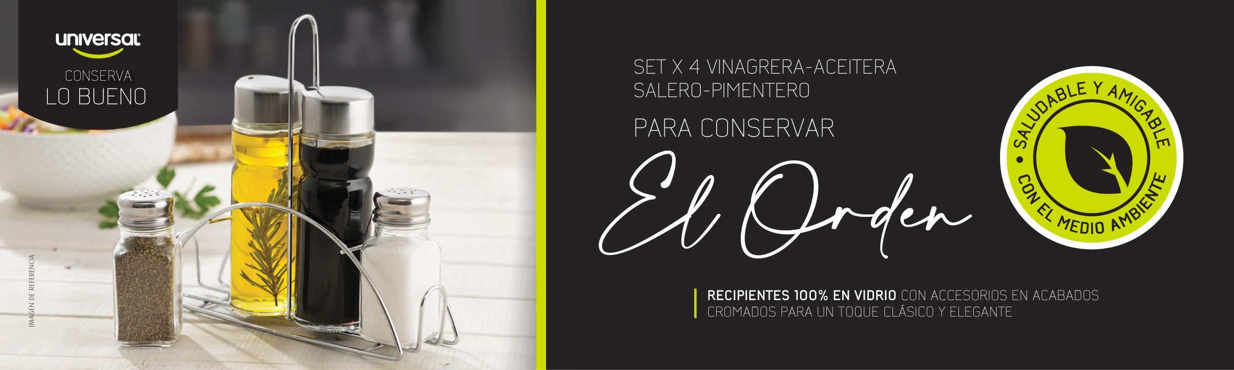 Setx4VinagreraAceiteraSaleroPimenteroJul21